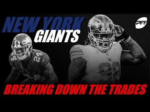 New York Giants: Breaking Down the Trades | PFF