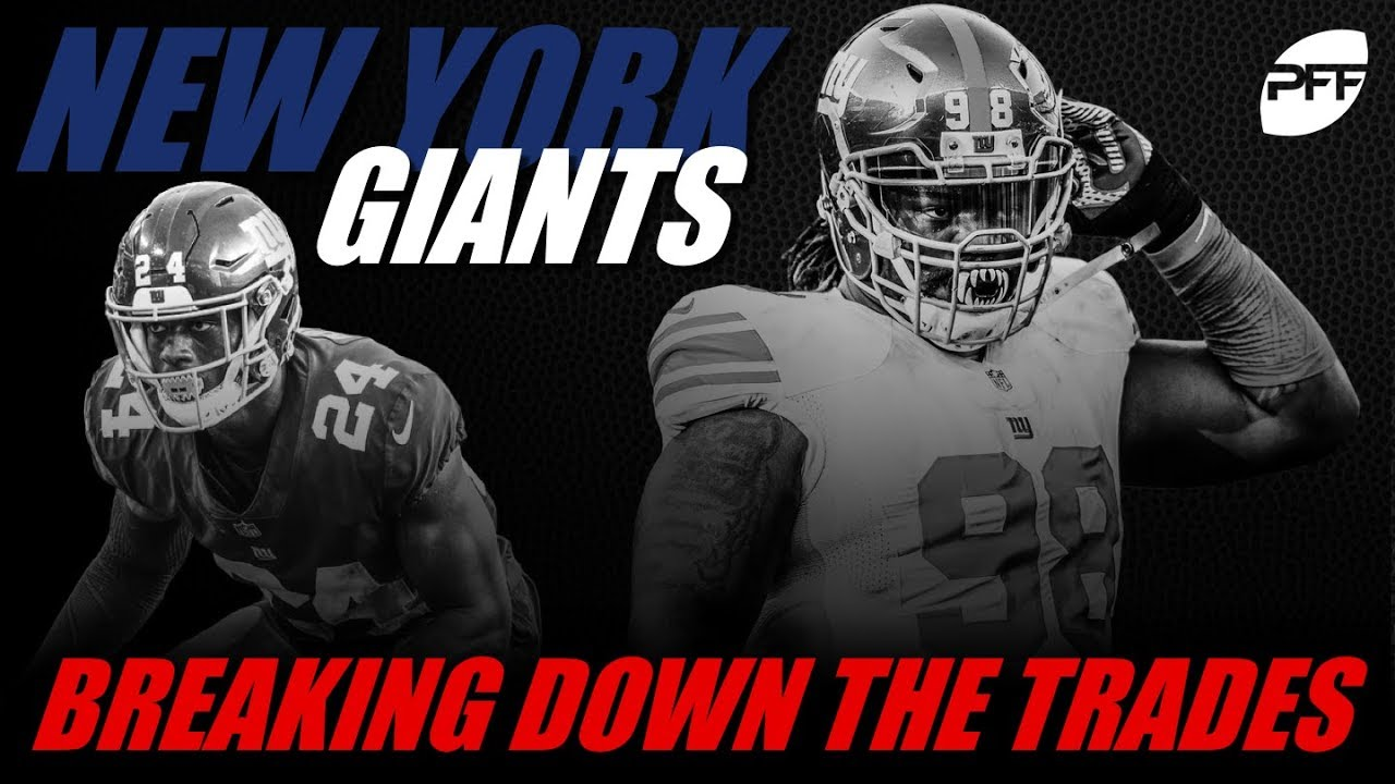 new concept 4d37f cb79d New York Giants: Breaking Down the Trades | PFF
