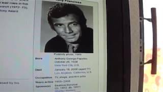 Tony Franciosa    90 years young on 10 25  2018