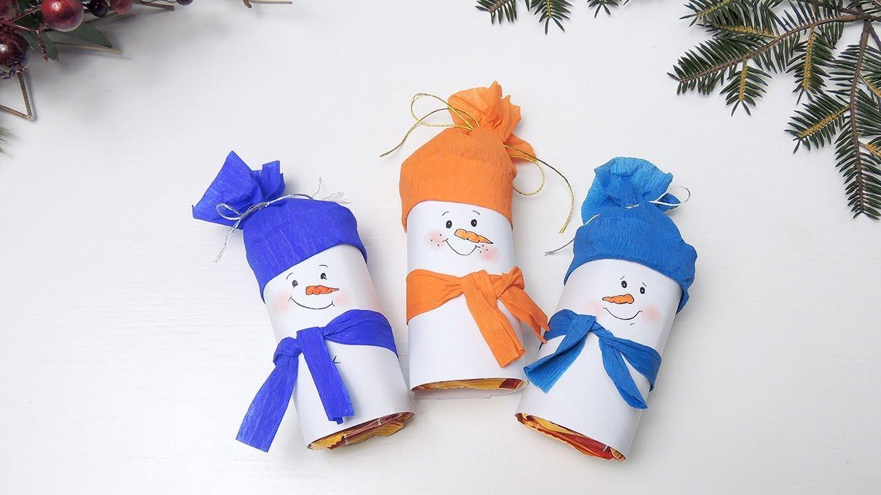 Как сделать руки снеговику из бумаги своими руками фото 601