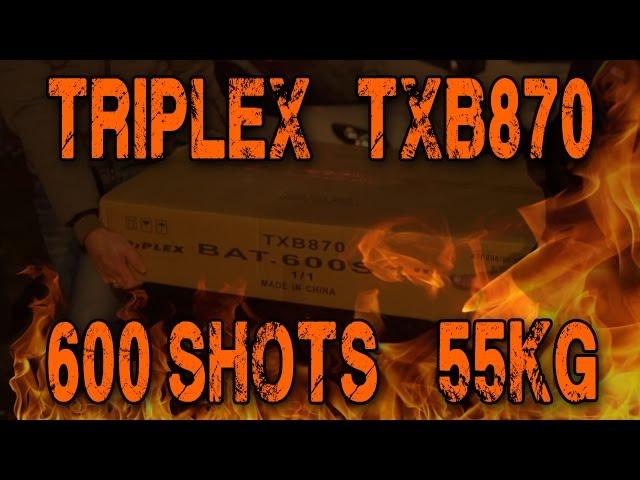 Triplex - TXB870 600 shots 1