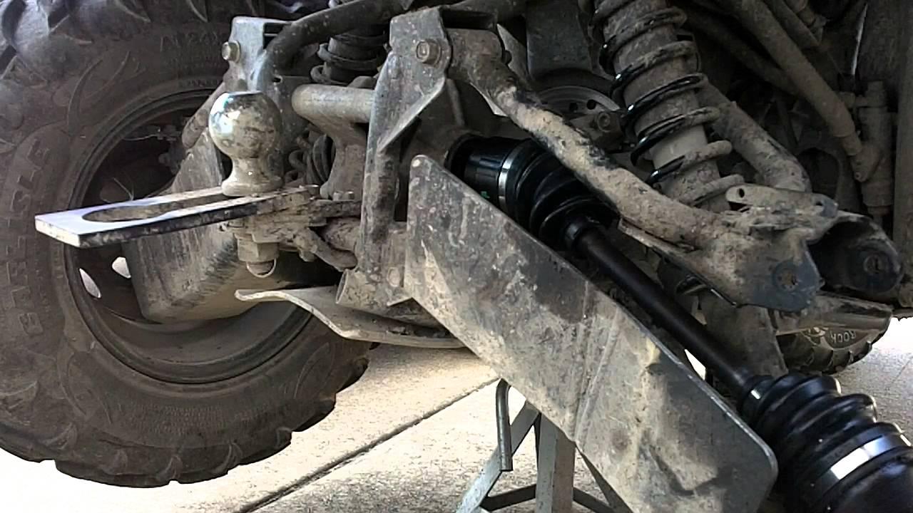 Honda Rancher 2009 Irs Cv Boot Axle Install 7 Youtube
