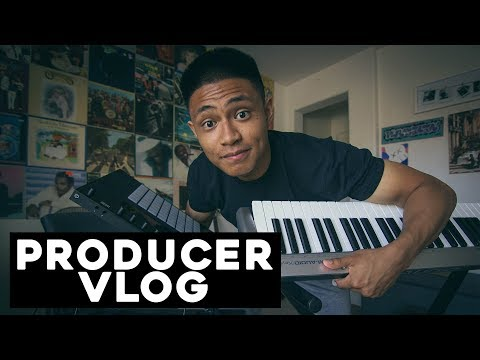 Day in the life of a MUSIC PRODUCER