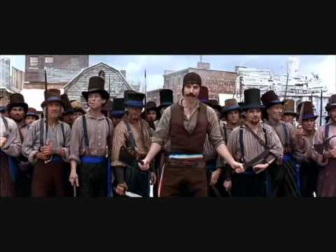 Gangs of new york... scena combattimento