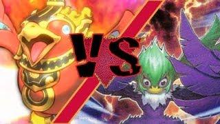 Fire King Turbo Vs. Black Wings (Dueling Network)