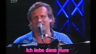 """Konstantin Wecker: """"Ich liebe diese Hure"""" (1993)"""