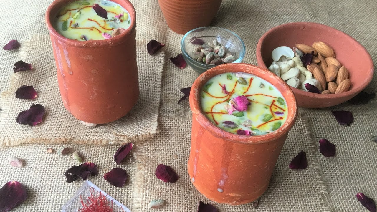 Image result for Holi Special Ice Tea Thandai