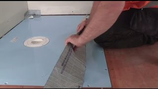 How to install a wetroom on a timber floor - AKW TuffForm & FormSafe