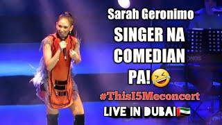 Sarah Geronimo - BEST SINGER & COMEDIAN🤣| This I5 Me concert in Dubai🇦🇪