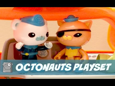 Octonauts Captain Barnacles Octopod Steering Deck Set Figure CBeebies New BOXED