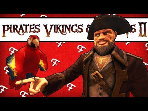 Pirates, Vikings and Knights II: Polly Da Parrot! (Gameplay - Comedy Gaming)
