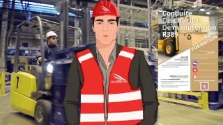 Formation à la conduite de chariot de manutention R389 par Jem Consulting