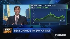 This may be your best chance to buy Chinese stocks, says expert