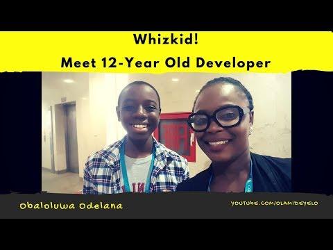 Meet 12 Year-Old Nigerian Web Developer, Obaloluwa Odelana (Watch Video)