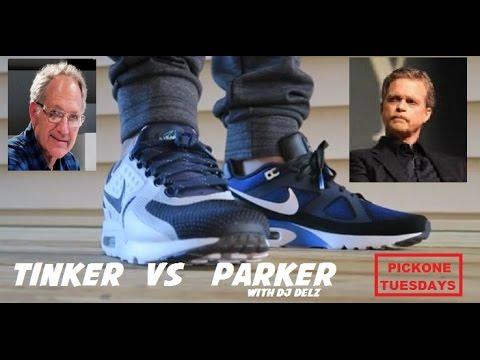 ee70211ed1 Nike Air Max Zero Tinker VS Mark Parker Ultra Shoes #Pickone Battle -  YouTube