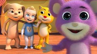 Head Shoulders Knees and Toes | Nursery Rhymes for Kids by Kachy TV