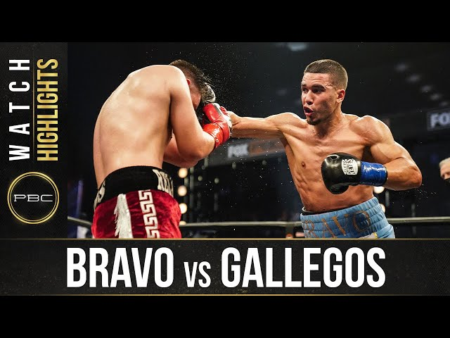 Bravo vs Gallegos HIGHLIGHTS: September 23, 2020 | PBC on FS1