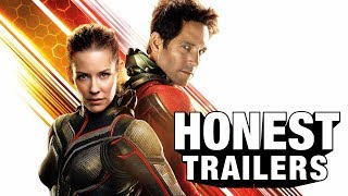 "Return to the MCU franchise that makes you say ""sure"" - It's Ant-Man and The Wasp Watch the Honest Trailers Commentary to see an inside look from the ..."