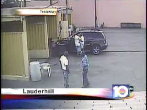 Shooting at fort lauderdale car wash youtube solutioingenieria Images