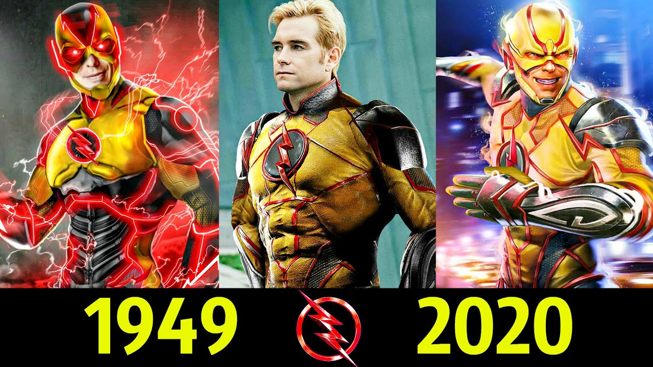 ⚡ Обратный Флэш - Эволюция (1949 - 2020) ! Все Появления 💥!