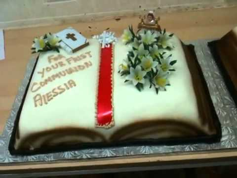 Bible Communion Confirmation Cakes YouTube