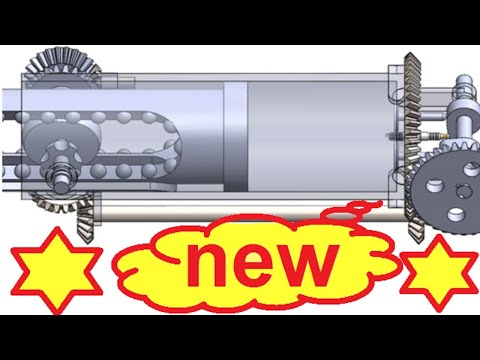 A 200% More Efficient Internal Combustion Engine Without Crankshaft , Rotary Engine New Technology