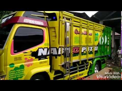 Uji pengaman dan variasi truck mitsubishi canter terbaru