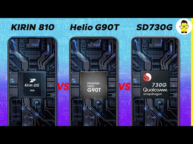 Kirin 810 vs Mediatek Helio G90T vs Snapdragon 730G - performance comparison | surprising result!