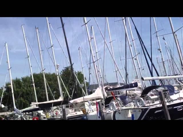 Bootsfahrt nach Hindeloopen und Workum