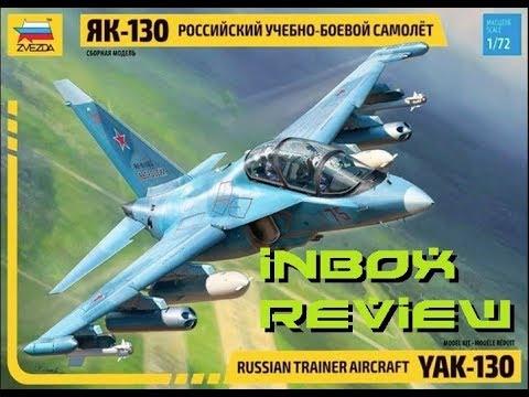 """Zvezda 1/72 Yak-130 """"Mitten"""" Inbox Review"""