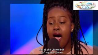 (English+Vietsub) Nút vàng của Simon trong Britain's Got Talent 2017 - And I'm telling you vietsub