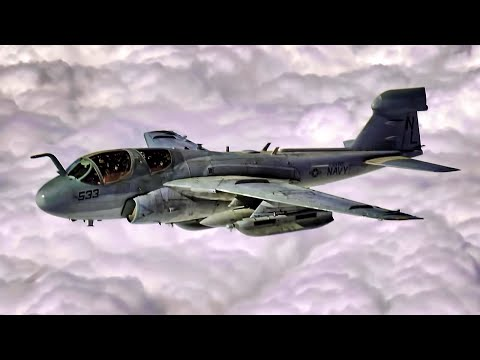 USN EA-6B Prowler End Of The Line • Retired After 45 Years
