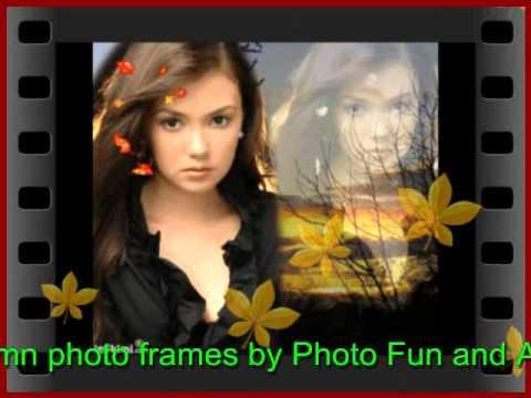 IMIKIMI Animated AUTUMN Photo Frames by Photo Fun and Art