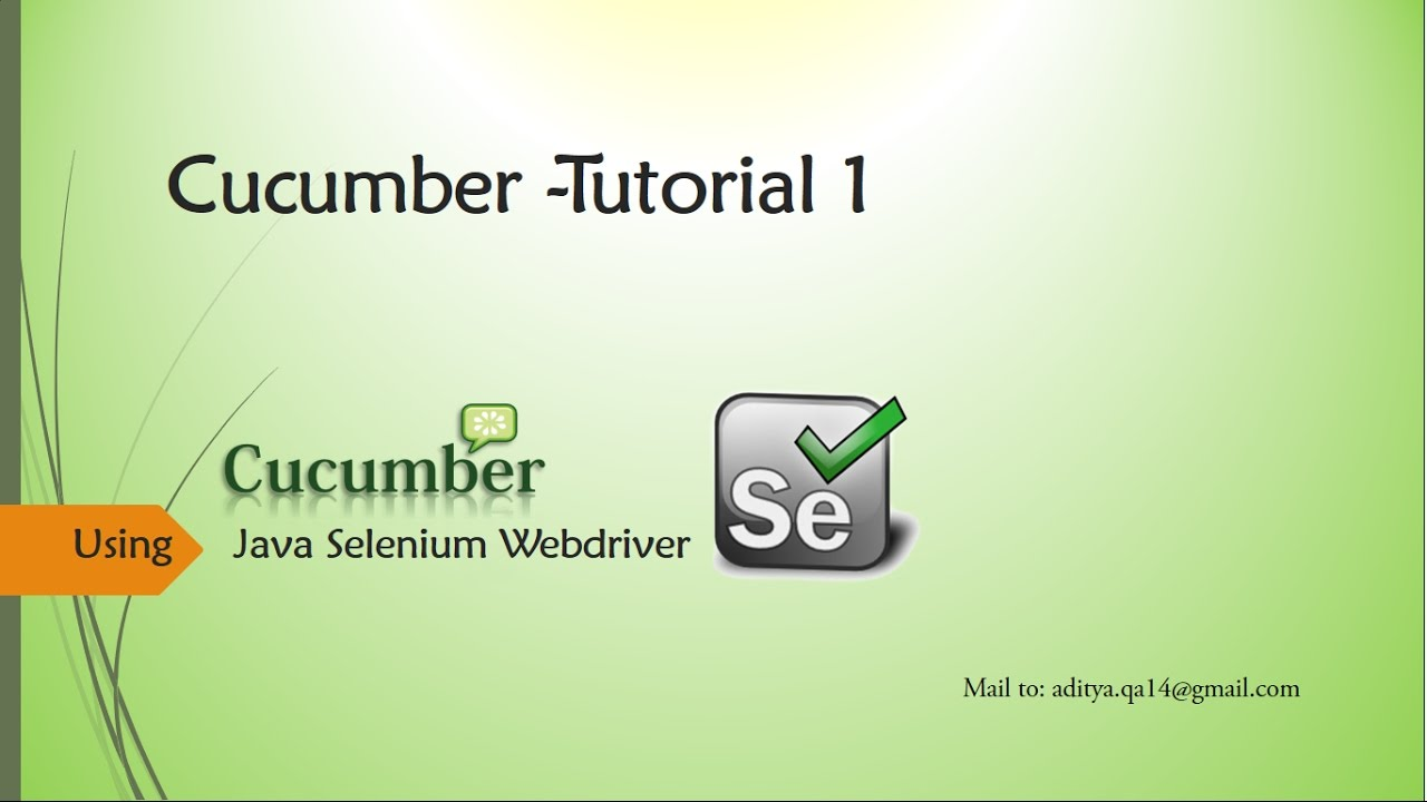 Download Cucumber configuration in Eclipse with Selenium Webdriver