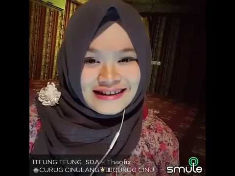 Yayan Jatnika - Curug Cinulang (Cover by Thaofix ft. Iteung) @Sing Smule