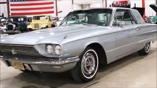 1966 Ford Thunderbird ice blue