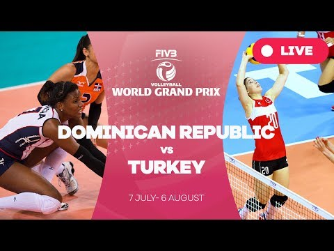 Dominican Republic v Turkey - Group 1: 2017 FIVB Volleyball World Grand Prix