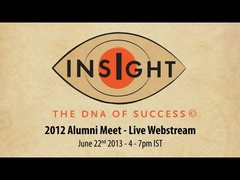 Isha Insight 2012 Alumni Meet with Sadhguru [LIVE]