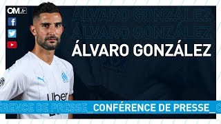La présentation d'Alvaro González