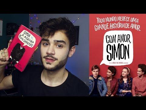 Representatividade em Com amor Simon  Perdido nos Livros