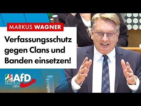 Verfassungsschutz gegen organisierte Kriminalität einsetzen! – Markus Wagner (AfD)