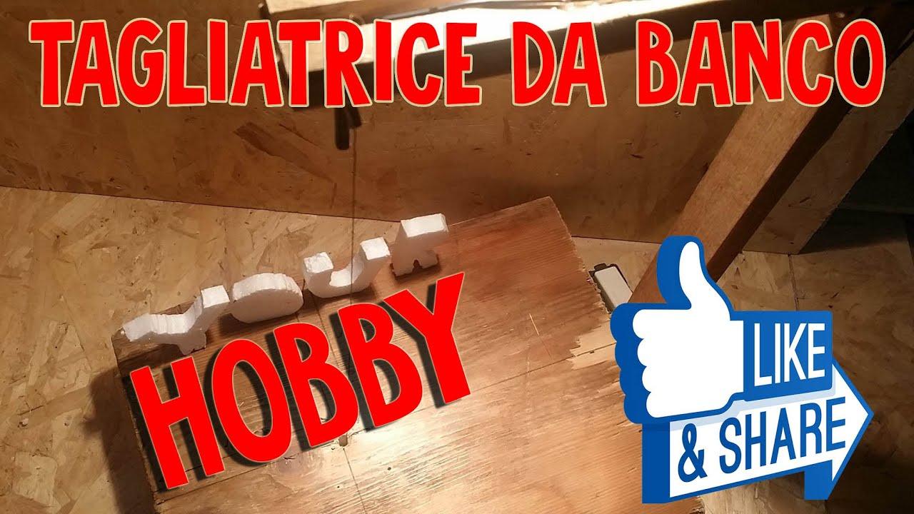 Schema Elettrico Per Taglia Polistirolo : Diy taglia polistirolospugnaplastica da banco fai da te youtube