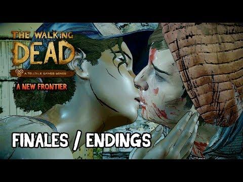 The Walking Dead A New Frontier - Episode 5 Todos los Finales   Bueno, Malo, Muertes   All Endings