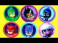 PJ MASKS Play-Doh Toy Surprise Opening with Catboy, Owlette, Gekko, Romeo Toys and Surprise Eggs