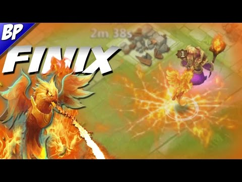 Castle Clash Finix Review/Gameplay (pet)