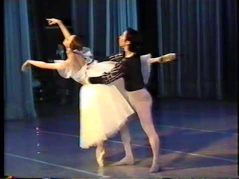 """Международный Конкурс балета """"Юность балета"""",Заключительный концерт.  Киев,февраль 2002.  Часть 5."""