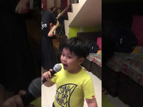 Short video of my little brother (4 yrs. old) singing
