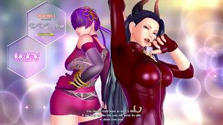 SNKヒロインズ Tag Team Frenzy (SNK Heroines) Luong & Shermie Story Mode