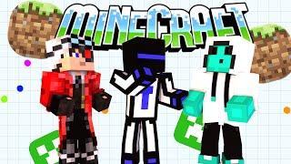 Minecraft Agar io Без модов : Почти настоящий агар ио #1