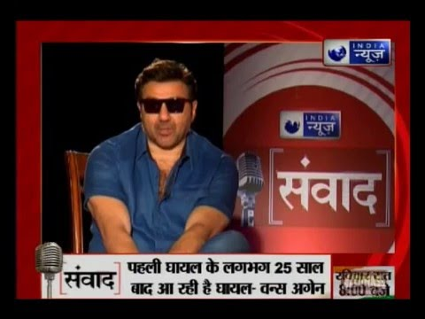 Samvaad: Bollywood Actor Sunny Deol speaks exclusively to India News
